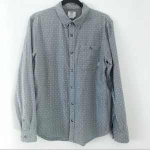 Vans Button Down Shirt Size Medium